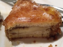 Cross-section showing the banana
