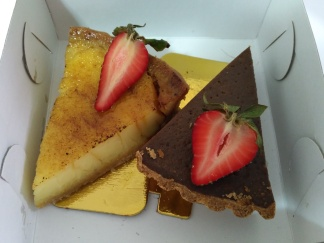 Lemon & Chocolate Tart