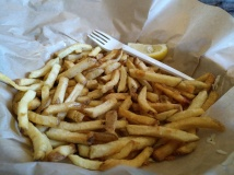 French fries - really crispy!
