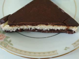 Chocolate Coconut Nanaimo Bar