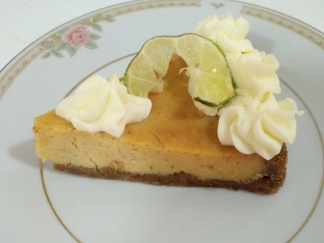 Key Lime Sliced Pie