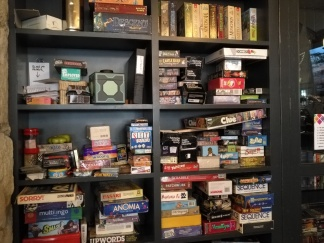 Close up of games