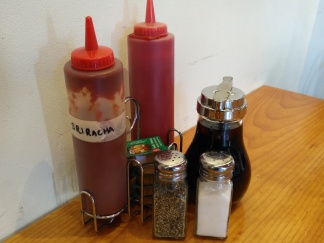 Condiments at every table