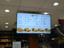Sandwich bar menu
