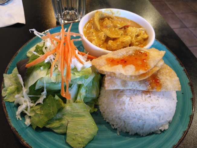 Yellow Curry Chicken (Lunch Special)