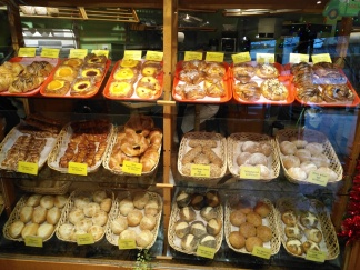 Danishes and breads