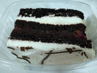 Black Forest Slab Cake
