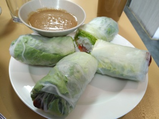 Pork Patty Salad Rolls, 2 pc
