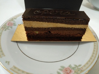 Dark Chocolate Espresso Orange Opera