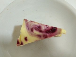 Raspberry Cheesecake Slice