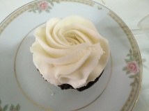 Chocolate Cupcake + Marshmallow Frosting